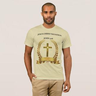 Camiseta El JESUCRISTO ES 3:16 de Juan de la SALVACIÓN