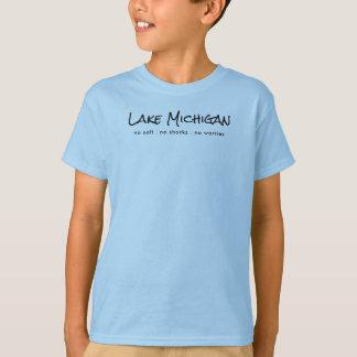 Camiseta El lago Michigan - humor