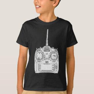 Camiseta El lápiz frotó la radio de Spektrum RC