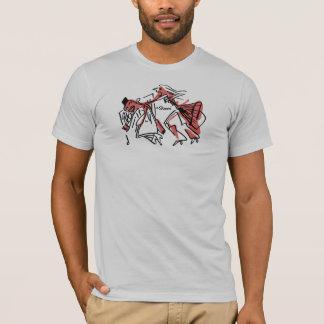 Camiseta El luchar con el estilista