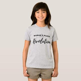 Camiseta El lugar de una mujer está en la revolución - FE