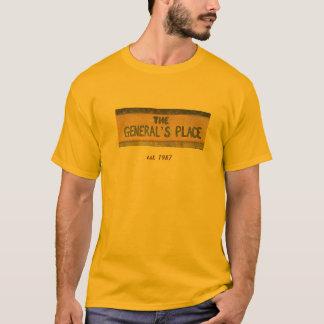 Camiseta El lugar del general