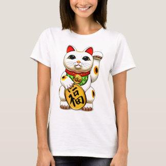 Camiseta El maneki-neko, 招き猫, gato afortunado