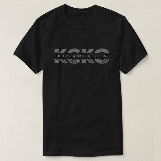 Camiseta El mantra KCKO del Keto refresca el logotipo