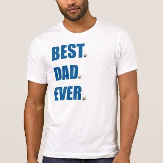 Camiseta El mejor béisbol del papá nunca -