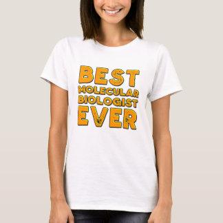 Camiseta El mejor biólogo molecular nunca