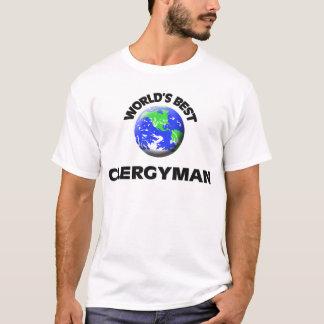 Camiseta El mejor clérigo del mundo