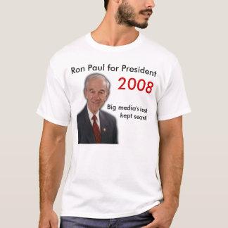 Camiseta ¡El mejor de los medios grandes mantenido secreto!