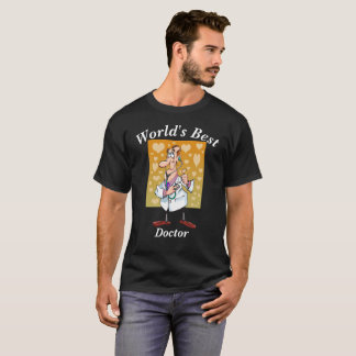 Camiseta El mejor doctor del mundo