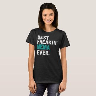 Camiseta El mejor Freakin Mema nunca