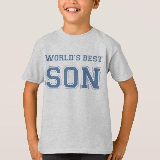 Camiseta El mejor hijo del mundo