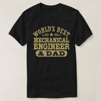 Camiseta El mejor ingeniero industrial y el papá del mundo