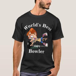 Camiseta El mejor jugador de bolos del mundo