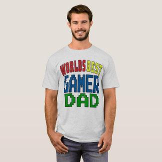 Camiseta El mejor papá del videojugador de los mundos