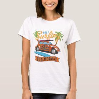 Camiseta El mejor practicar surf en California
