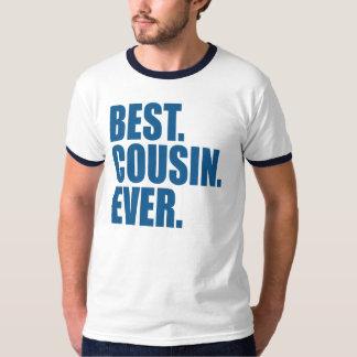 Camiseta El mejor. Primo. Nunca. (azul)