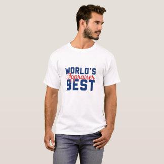 Camiseta El mejor tasador del mundo