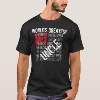 Camiseta El mejor tío Greatest tío #1 de tío Ever World's