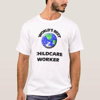 Camiseta El mejor trabajador del cuidado de niños del mundo