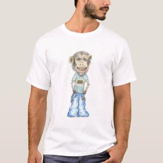 Camiseta El mono ve el mono hacer