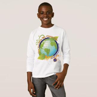 Camiseta El mundo es mi sala de clase - niños