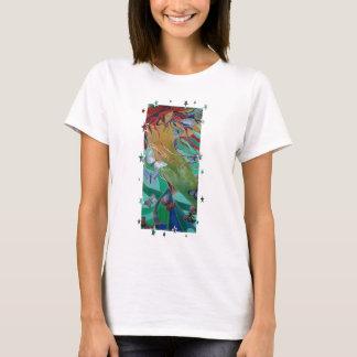 Camiseta El nadar con las mariposas