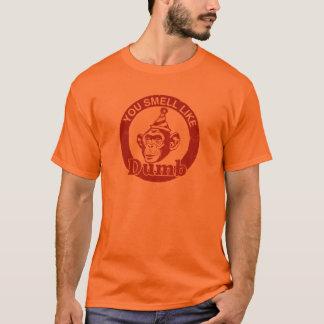 """Camiseta ¡El naranja feo """"usted olor tiene gusto"""" de la"""