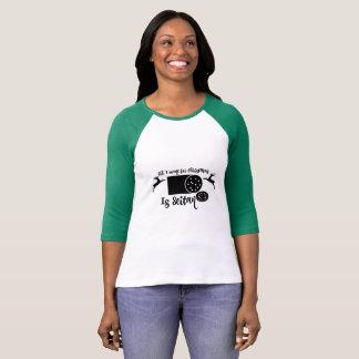 Camiseta El navidad todo del vegano que quiero para el
