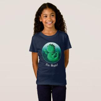 Camiseta ¡El Nessie pequenito agita hola!