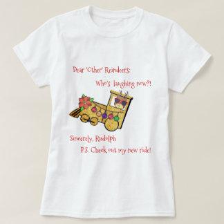 Camiseta ¡El nuevo paseo de Rudolph!