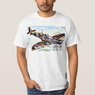 Camiseta El nuevo Spitfire de Gran Bretaña