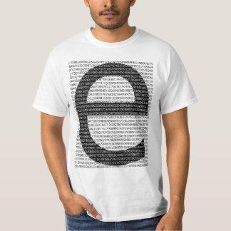 Camiseta El numero e