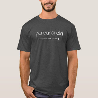 Camiseta El OEM androide puro de Fastboot abre gris