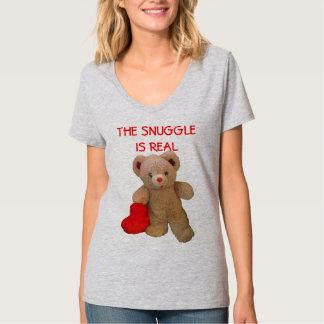 Camiseta El oso de peluche con el corazón grande quiere