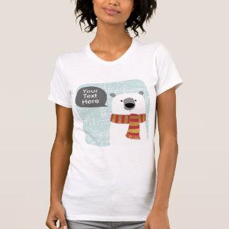 Camiseta El oso polar del dibujo de Digitaces, crea su