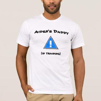 Camiseta El papá de Aiden [en el entrenamiento]