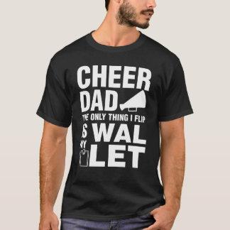 Camiseta El papá de la alegría la única cosa que muevo de