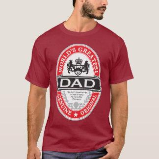 Camiseta El papá más grande del mundo