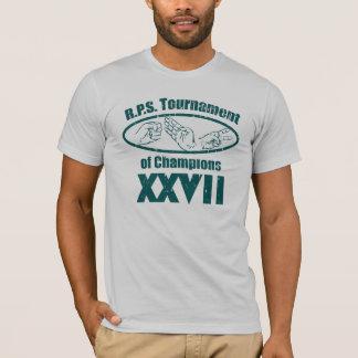 Camiseta El papel de la roca Scissor el torneo de campeones