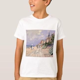 Camiseta El paseo marítimo en Trouville Claude Monet