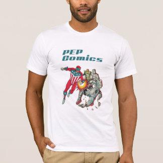Camiseta El patriota americano original del cómic del