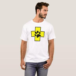 Camiseta el PE veterinario del doctor de la muestra del