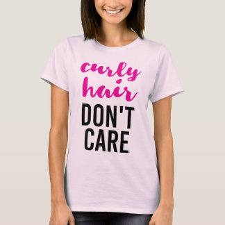 Camiseta El pelo rizado no cuida