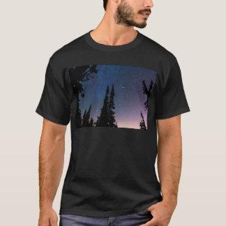 Camiseta El perderse en un cielo nocturno