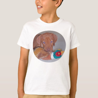 Camiseta ¡El perrito más lindo de Vizsla con el primer