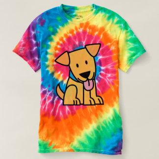 Camiseta El perro de perrito del labrador retriever sienta