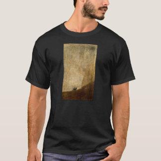 Camiseta El perro (pinturas negras) por Francisco Goya 1820