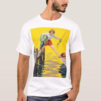 Camiseta El Pin 1955 del lío encima del arte