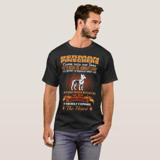 Camiseta El Pinscher alemán entra en vidas para enseñarnos