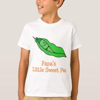 Camiseta El poco guisante de olor de la papá